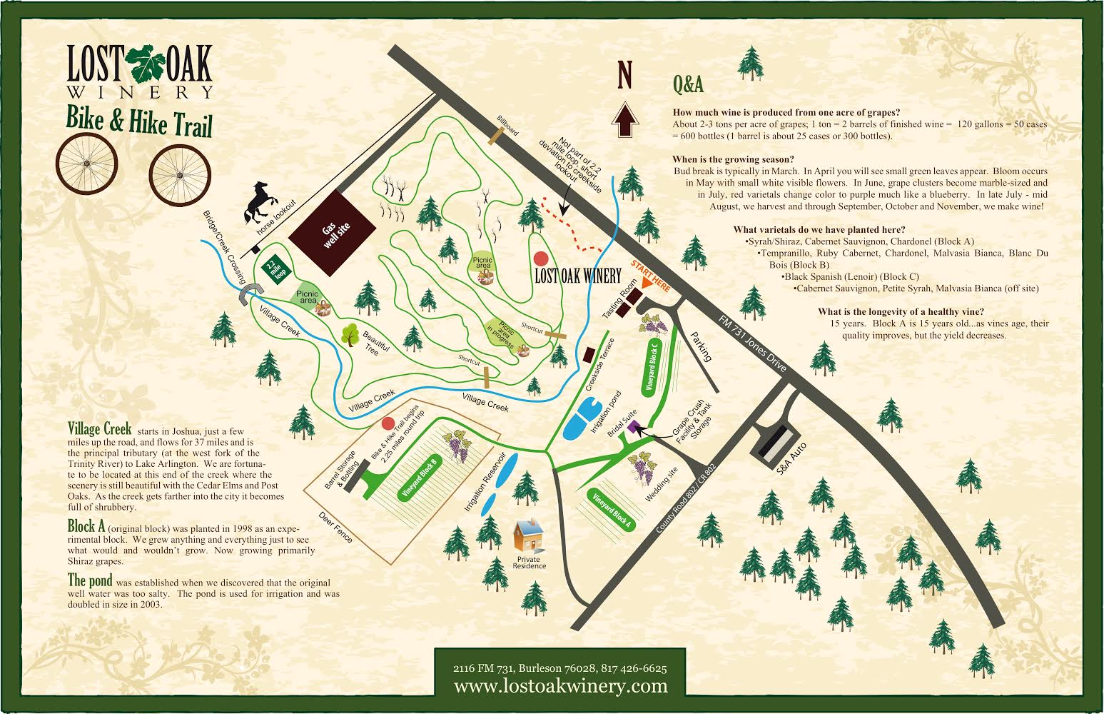 Map Of Texas Wineries.Lost Oak Winery Visit Tours