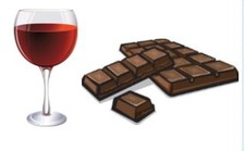 Wine & Chocolate Flight
