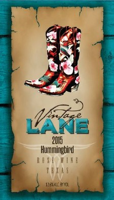 Vintage Lane Hummingbird Rose 2015