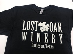 Lost Oak Winery Black T-Shirt