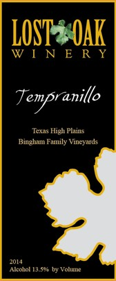 Tempranillo 2014 Bingham Family Vineyards